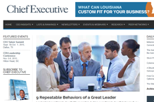Dr. Z in Chief Executive Magazine