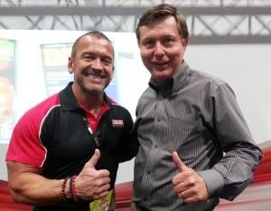 Lee Labrada and Dr. Alan Zimmerman
