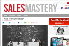 Dr. Z in Sales Mastery Magazine