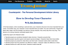 Dr. Z on Trans4Mind