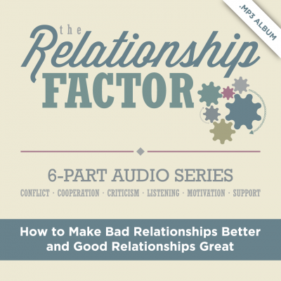 The Relationship Factor by Dr. Alan Zimmerman