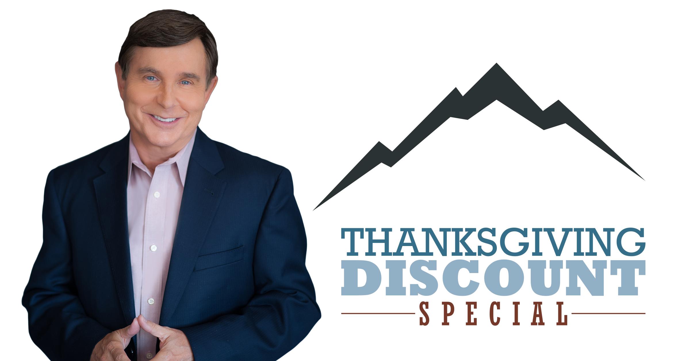 Thanksgiving Sale Success Splash