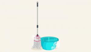 mop bucket attitude